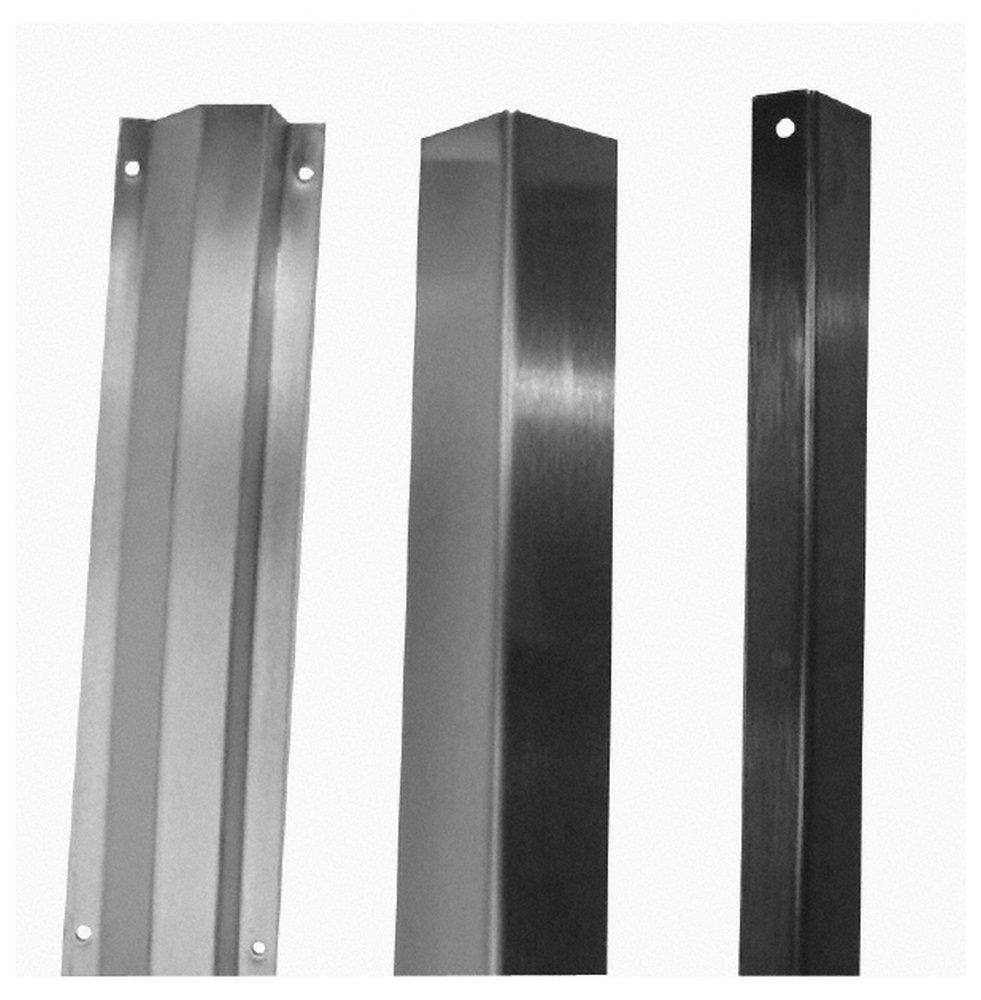 Door Guard, 36'' Long, Satin Stainless Steel Finish