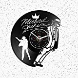 Clock Wall Vintage Michael Jackson Vinyl Michael