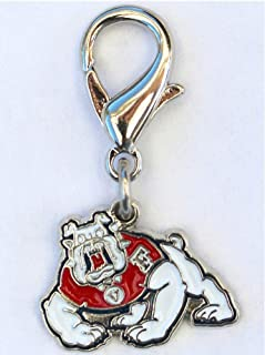 product image for Diva-Dog NCAA 'Fresno State Bulldogs' Licensed College Team Dog Collar Charm
