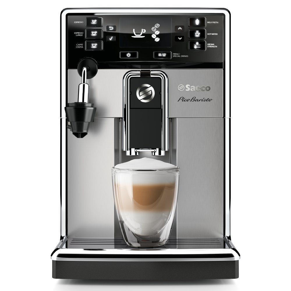 Saeco HD8924/47 PicoBaristo AMF Automatic Espresso Machine, Stainless Steel, 20 pounds by Saeco