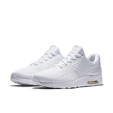 new arrival 765cf ab291 Amazon.com   Nike AIR MAX ZERO ESSENTIAL MENS running-shoes 876070-100 14 -  WHITE WHITE-WOLF GREY-PURE PLATINUM   Running