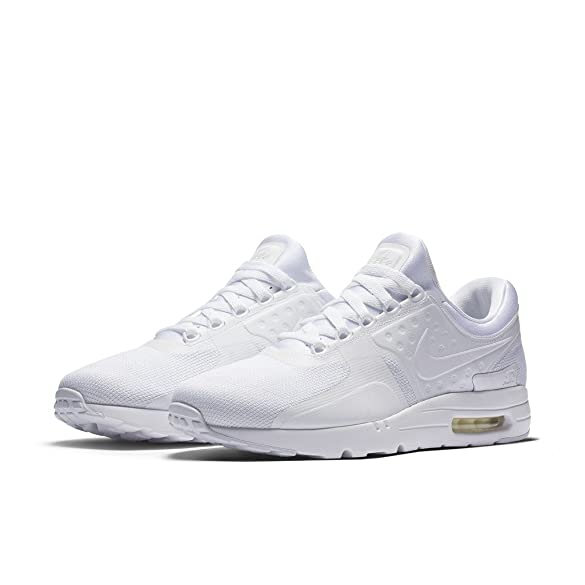 new arrival 66528 a66b8 Amazon.com   Nike AIR MAX ZERO ESSENTIAL MENS running-shoes 876070-100 14 -  WHITE WHITE-WOLF GREY-PURE PLATINUM   Running