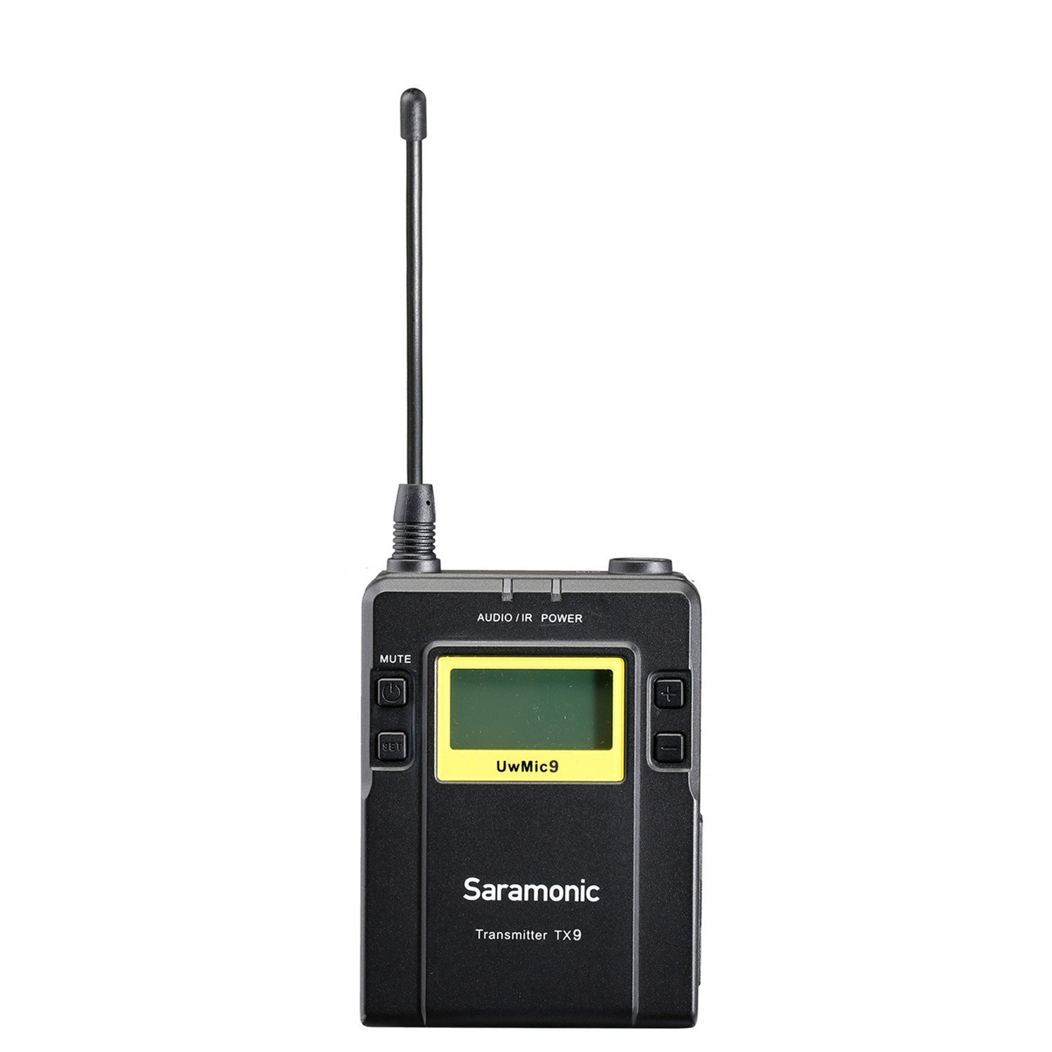 Saramonic TX9 96-Channel Bodypack Transmitter Wireless Unit with Lavalier Microphone for the UwMic9 System by Saramonic