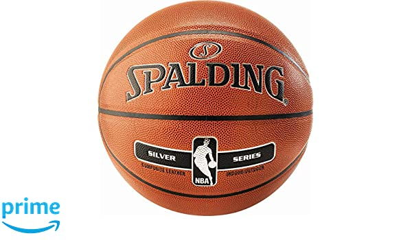 Spalding Unisex - NBA Silver IN/out SZ.5 (76-375Z) Baloncesto ...