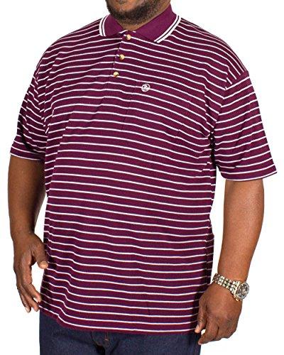 Brooklyn Clothing Herren Poloshirt violett violett