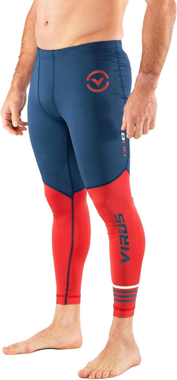 Virus Mens RX7-V3 Stay Cool Tech Shorts Green XL