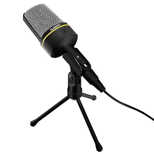 12 opinioni per ELEGIANT 3,5 Millimetri Microfono a Condensatore Professionale Studio Broadcast