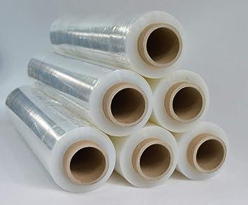 1 x Rolle Stretchfolie Palettenfolie Verpackungsfolie 23 my 2,5 kg Transparent