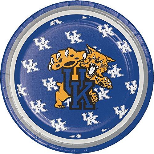 8-Count NCAA Dessert Paper Plates, Kentucky Wildcats]()
