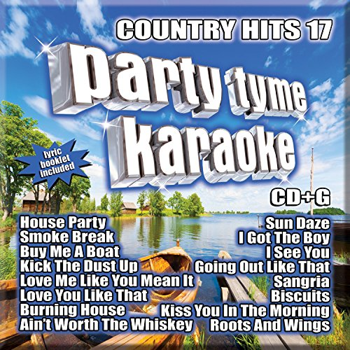 Party Tyme Karaoke - Country Hits 17 [16-song CD+G] (Karaoke Country)