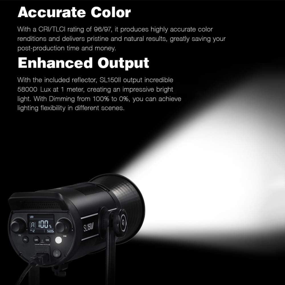 GODOX SL150II 150W Bowens-mount Daylight Balanced LED Video Light ...