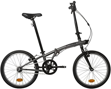 BTWIN,Bicicleta plegable,2017, Gris, Entrega 48 horas, MARTIbikes ...