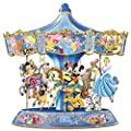 Wonderful World Of Disney Walt Disney's Classic Characters Musical Carousel by The Bradford Exchange