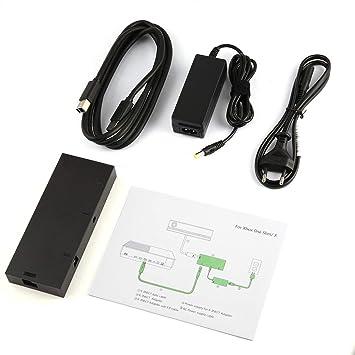 Jiobapiongxin Adaptador para PC con Xbox One S/X Windows 10 con Fuente de alimentación de Enchufe de EE. UU.: Amazon.es: Electrónica