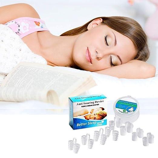 Dispositivos Anti Ronquidos Solucione,no roncar Dilatador Nasal Antirronquidos Nariz Solucion Ayuda para Dormir Apnea,snore stopper anti snoring respirador ...
