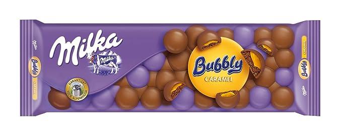 Milka Bubbly Caramel - 250 g