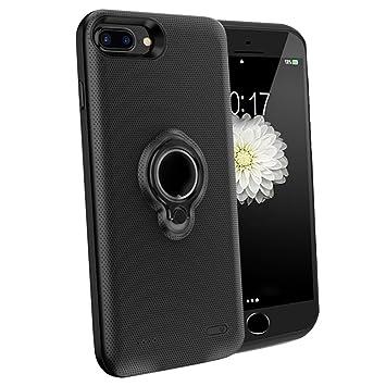 iPhone 6 +/6S +/7 + Cargador de batería Caso – feeleye 7200 mAh Extended Premium inalámbrico recargable portátil Batería Power Bank para Apple Iphone ...