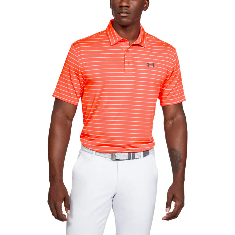 Under Armour Men's Playoff Golf Polo 2.0, Beta Red/Pitch Gray, XX-Large by Under Armour