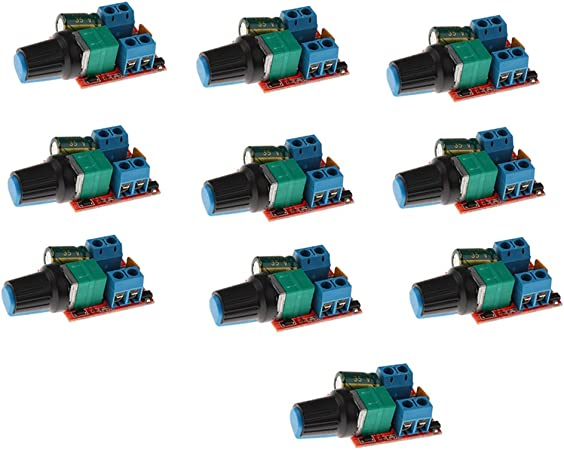 Sharplace 10stück Mini Spannungsregler Einstellbare Elektronik