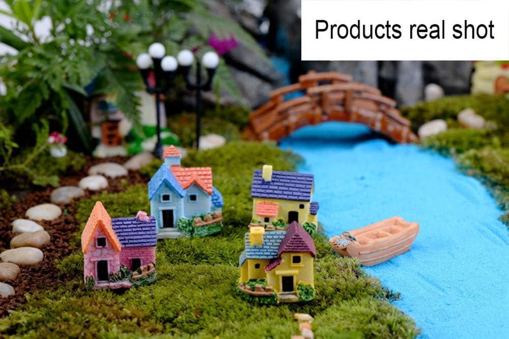 Miniature Dollhouse Mini black Scissor Garden Fairy Bonsai Plant Landscape 1pc A