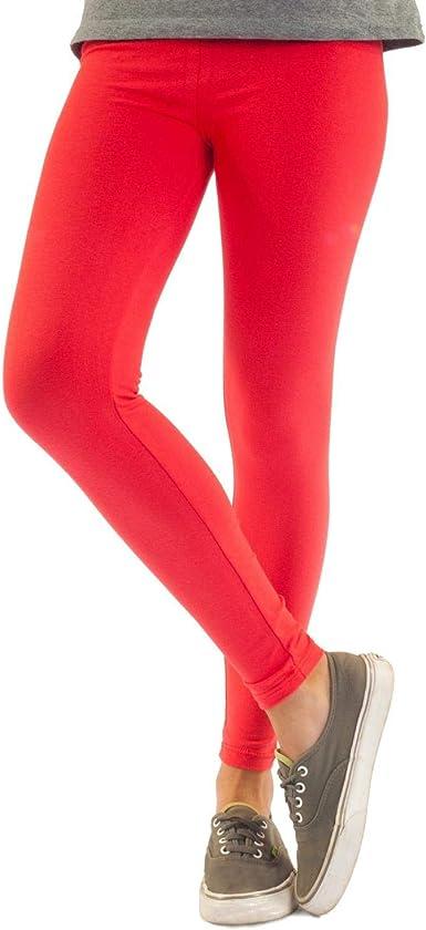 Leggings de algodón para mujer opacos. Largo hasta el tobillo ...