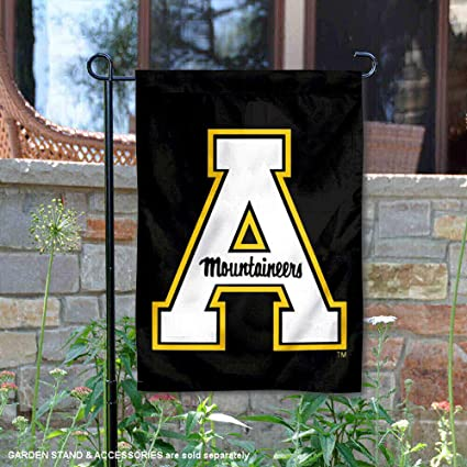 College Flags and Banners Co Appalachian State Mountaineers Garden Flag