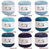 golo Crochet Thread for Size10 Milky White Crochet