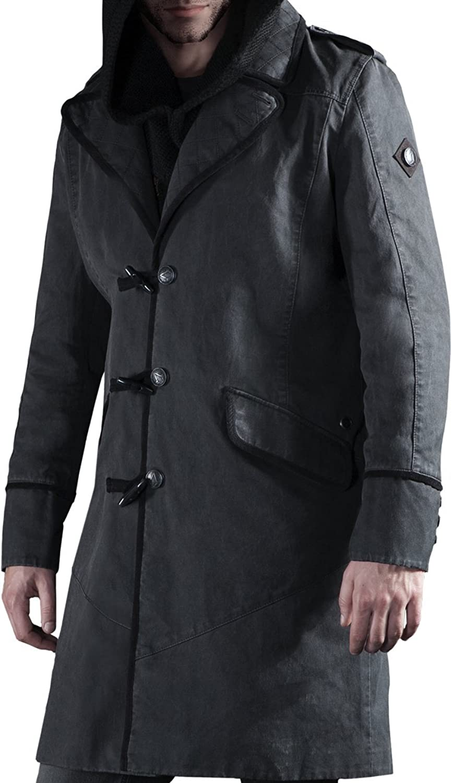 Musterbrand Herren Assassin's Creed Syndicate - Jacob Mantel, Dunkel Grau