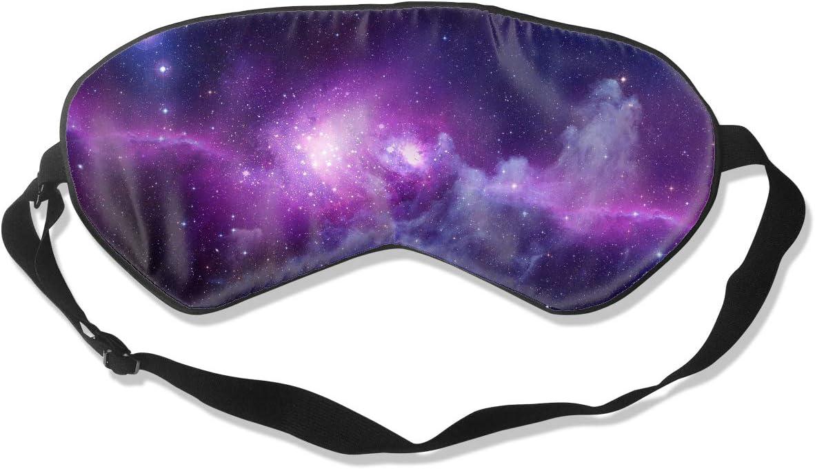 silk eye mask Purple silk sleep mask