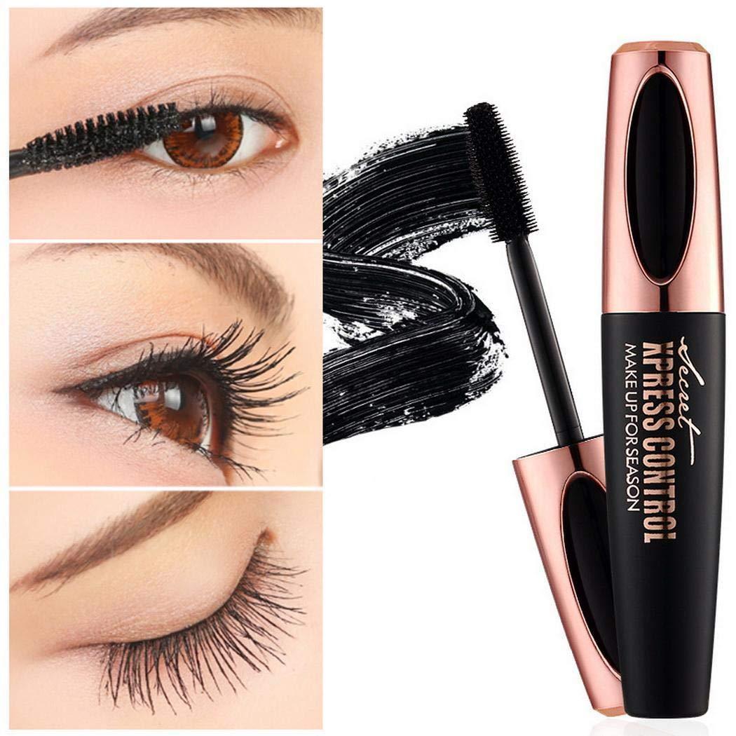 Lazinem 1 Pcs Makeup Long-Lasting Waterproof Eyelash Lengthening Black Mascara Mascara