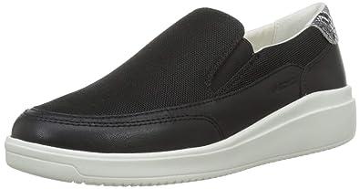fábrica auténtica cd720 f11e3 Amazon.com | Geox Women's D Tahina B Low-Top Sneakers ...