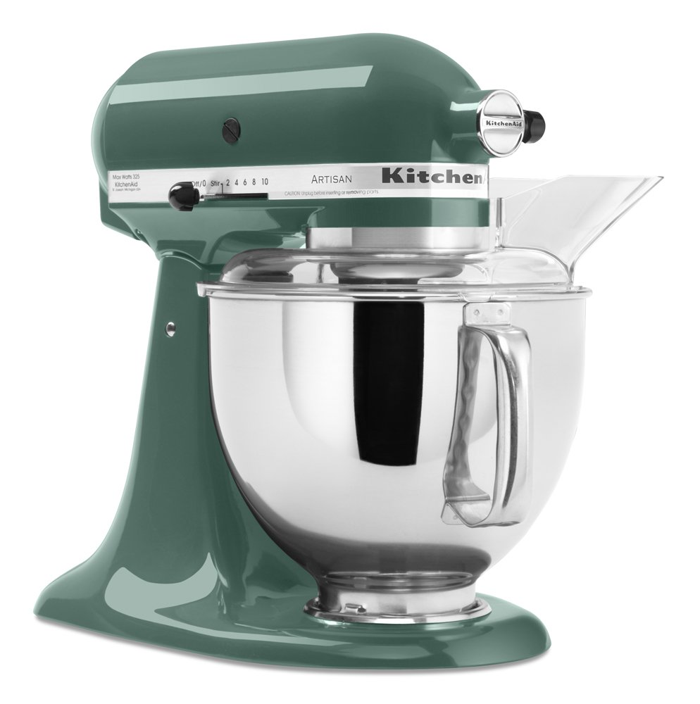 Amazon.com: KitchenAid KSM150PSBL 5 Qt. Artisan Series Stand Mixer ...