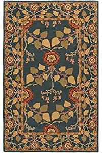 home decorators collection amazon patrician rug 2 x3 blue kitchen amp dining 11402