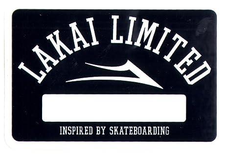 Lakai Skate Shoes - Pegatina 8,5cm de ancho aprox. para snowboard
