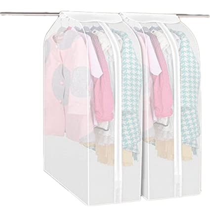 Superbe Multill Clear Garment Bag Clothes Dust Cover Bag Closet Storage Hanging Bag  Dustproof Covers For Clothes