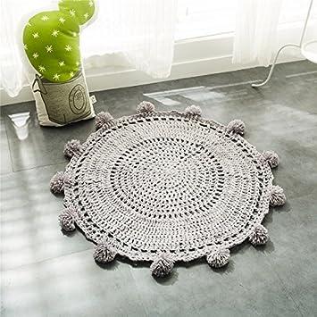 GRENSS Neue Häkeln runde Teppiche und Teppichböden für Kinder zimmer ...