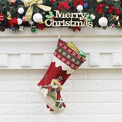 Making Christmas Stocking.Amazon Com Diy Jewelry Making Christmas Stocking Plaid