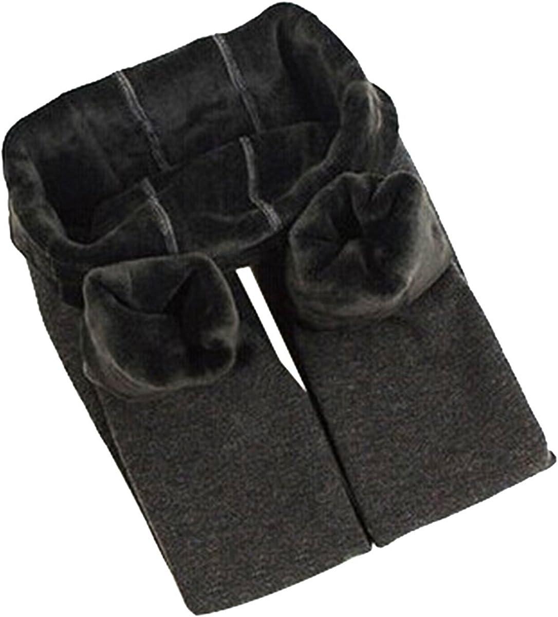 Yodensity per 4-12 anni caldi e spessi elasticizzati Leggings invernali da bambina