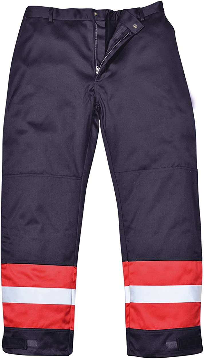 Portwest Workwear Mens Bizflame Trousers Import Ranking TOP1 Plus Navy