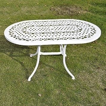 Elise Mobiliario de jardín (4 piezas, aluminio fundido Muebles de ...
