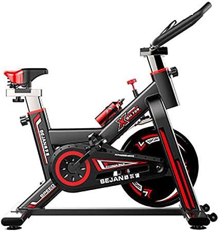 Warmwin Bicicleta de Spinning Bicicleta de Interior para el hogar Equipo de pérdida de Peso Bicicleta Deportiva Ultra silenciosa Bicicleta de Ejercicios con Control magnético Negro: Amazon.es: Hogar