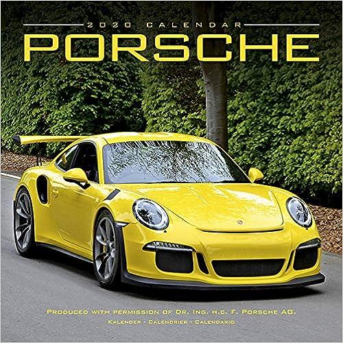 Porsche 2020 Wall Calendar