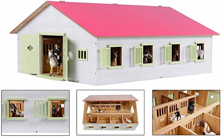 Van Manen Kids' Globe Farming Horse Ranch, with 7 Horse
