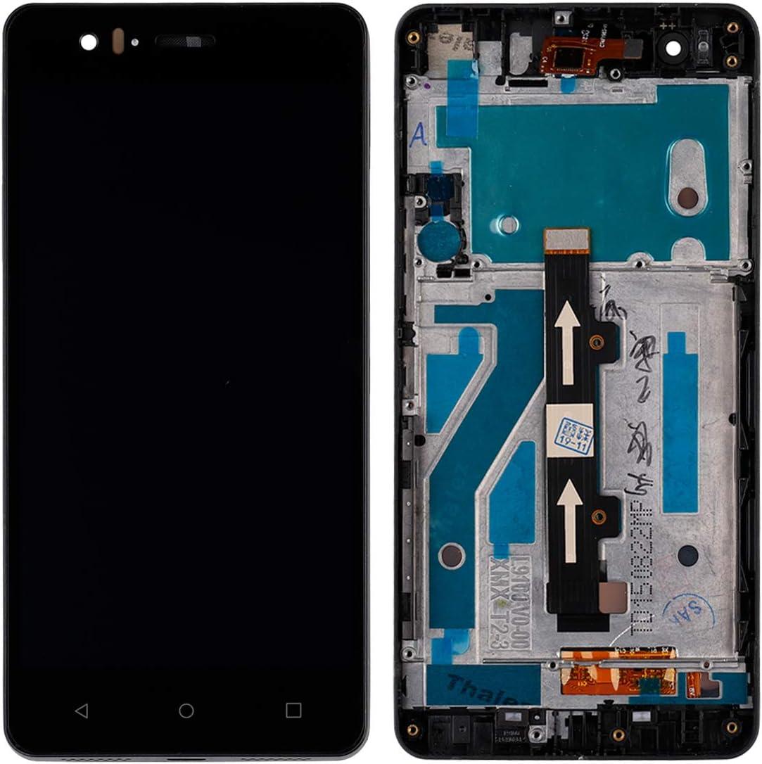 Pantalla LCD compatible con BQ Aquaris M5 (con marco), pantalla ...
