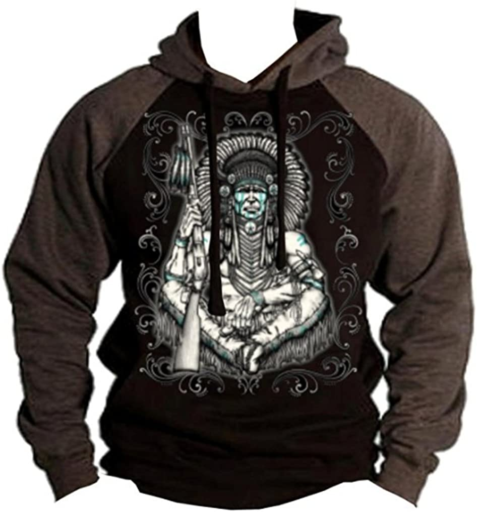 Mens Native American Sweatshirt Pullover