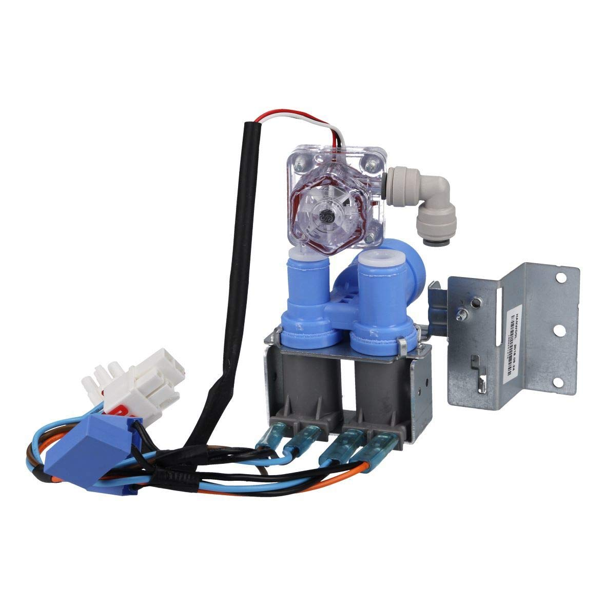 Bosch Siemens 497830 00497830 ORIGINAL Zweiwegeventil Magnetventil Elektroventil Ventil zweifach K/ühlautomat K/ühlschrank K/ühlger/ät auch Balay Constructa Neff