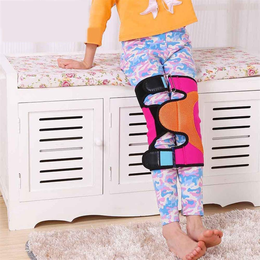 HAOHAODONGG Adjustable Leg Correction Belt, Leg Correction Band Type O/X Knee Straightener for Children to Restore The Straight Leg,S