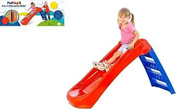 Blue Palplay 907184 Junior Folding Slide Red