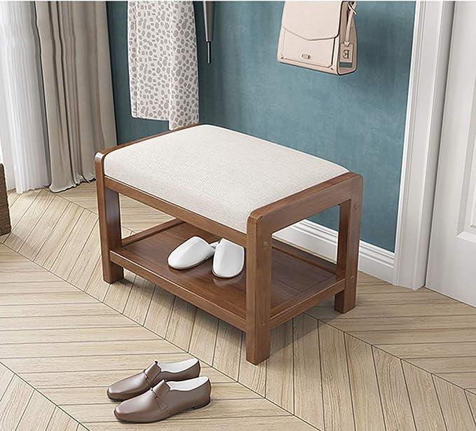 Entryway - Banco de Zapatos pequeños, Estante para Zapatos ...
