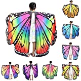 Butterfly Wings Shawls for Girls Baby,Toponly Nymph
